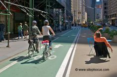 New York City bike lanes