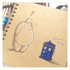 19 Pieces Of Fan Art That Prove Baymax Is Your New Fave Character