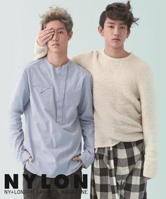 Mark & Jr - Nylon Magazine December Issue '14