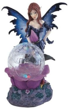 Amazon.com - Fairy Collection Crystal Ball LED Light Figure Decoration Collectible