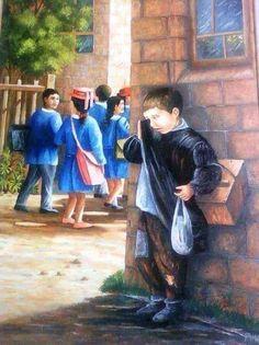 Childhood Memories Quotes, Lonliness, Sad Art, Poor Children, Poor Kids, Mother Teresa, Cool Photos, Art Drawings, Sketches