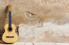 Spanish Guitar on Wall