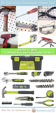 http://www.homeownershiptips.com/2013/06/13/craftsman-evolv-52pc-homeowner-tool-set-giveaway/