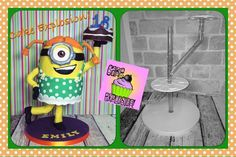 Anti Gravity Cake, Gravity Defying Cake, Fab Cakes, Just Cakes, Minion Cookies, Cake Frame, Cake Structure, Sculpted Cakes, Minion Party