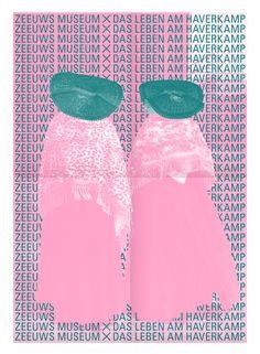ZEEUWS MUSEUM X DAS LEBEN AM HAVERKAMP Campaign identity