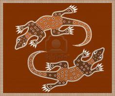 Art aborigène / dotpainting