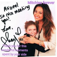 For Shay Mitchell, from Alizée (@FanAlyssaPhoebe)
