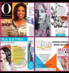 Rodan + Fields in the media.  https://visibleproof.myrandf.com/Pages/About/PressRoom