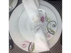Aparelho de Jantar Alegra 45 Peças - em Porcelana Edfort com as melhores…