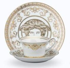 Capture Decor, Decorative Plates, Cup And Saucer, Glassware, Home Decor, Versace Home, Plates, Tableware