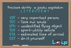 Ku przestrodze (police, a visit, information) - Loip Angielski Online English Time, English Words, English Lessons, Learn English, English Language, English Grammar Tenses, English Vocabulary, Education English, Teaching English
