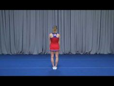 Cheer Routine for Tryouts Easy Cheer Stunts, Nca Cheer, Cheerleading Tryouts, Cheer Jumps, Youth Cheer, Cheerleading Cheers, Cheer Coaches, Basketball Cheers, Basketball Season