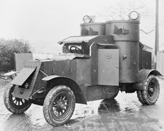 AUSTIN MOTOR COMPANY COLLECTION (Q 15077A)   Austin Armoured car (1914-1918)