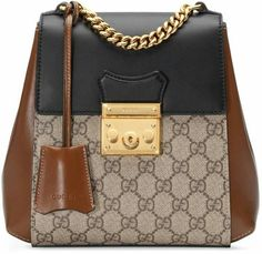 Padlock GG Supreme Backpack by Gucci  fashion  bags  backpacks  shopstyle   style 602e930ae96