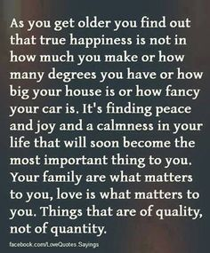 Search for True happiness in life <3