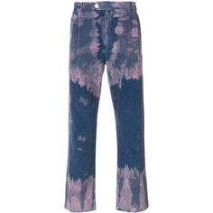 Gucci bleached corduroy trousers (4.855 RON) ❤ liked on Polyvore featuring men's fashion, men's clothing, men's pants, men's casual pants, blue, mens blue pants, mens zipper pants, mens corduroy pants, mens zip off pants and gucci mens pants