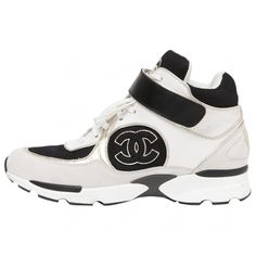 Chanel White Leather Trainers | Vestiaire Collective