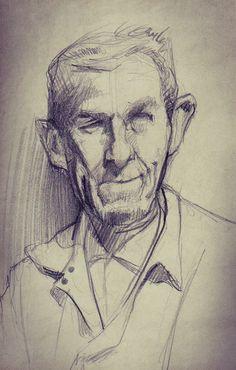 Sketchbook: One by Hani Troudi, via Behance