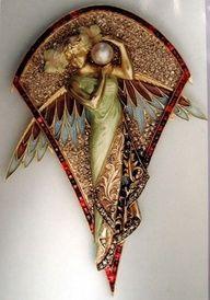 René Lalique brooch | Art Nouveau jewelry