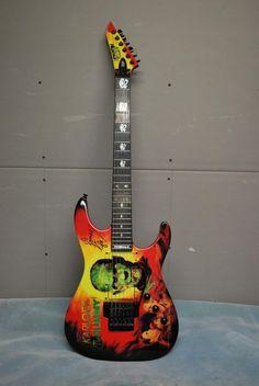 "ESP KH2 ""Mummy"" Kirk Hammet Signature"