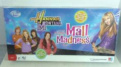 Mall Madness Hannah Montana Board Game Talking Electronic 2008 Complete #MiltonBradley