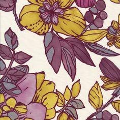 Lourdes Sanchez - Botanica - Large Floral - Cream