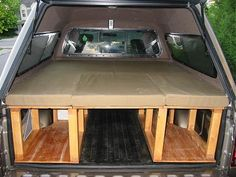 Truck bed  MINIVAN CAMPING