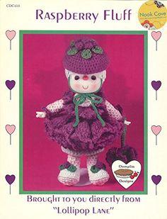 Raspberry Fluff Crochet Doll Pattern Dumplin Designs By Lollipop Lane Patterns Lollipop Lane $8 includes shipping http://www.amazon.com/dp/B01AILTX9O/ref=cm_sw_r_pi_dp_6euLwb12HX8B5