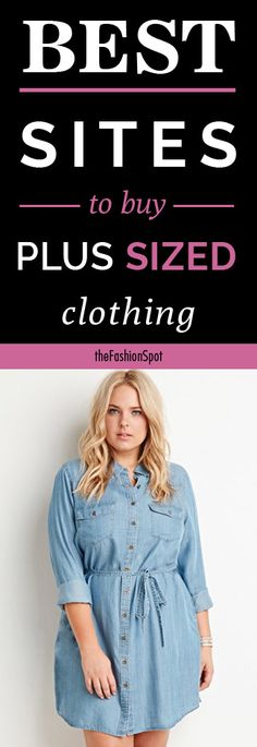 Plus-size fashion has come a long way in recent years. Here's your complete guide to the best plus-size fashion sites online. Fat Fashion, Fashion Sites, Curvy Girl Fashion, Plus Fashion, Womens Fashion, Fashion Black, Petite Fashion, Fashion Bloggers, Fashion Boots