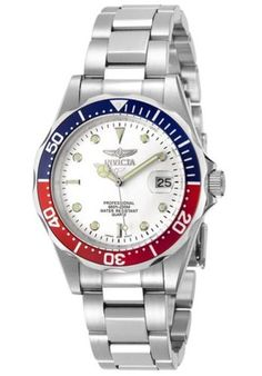 Invicta-8933-Mens-Pro-Diver-White-Dial-Stainless-Steel-Bracelet-Watch