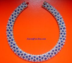 Striking Beauty LES BERNARD Silver Rhodium Pave by lizystuff