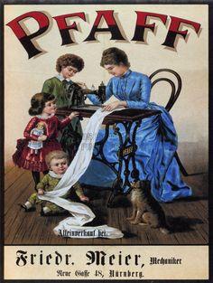 Amazon.com - VINTAGE PFAFF SEWING MACHINE GERMANY VINTAGE RETRO ADVERTISING POSTER 1574PY - Prints