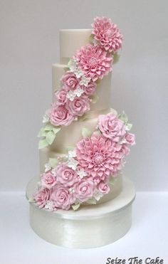 Wedding Cake  - Cake by seizethecake