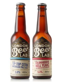 London Beer Lab on Packaging of the World - Creative Package Design Gallery
