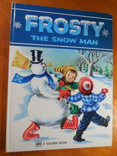 Vintage Frosty The Snow Man A Big Golden Book by PageTurnerBooks, $10.00