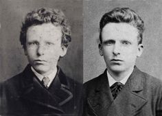 Los Hermanos Vincent y Theo Van Gogh, 1878 (Foto: Paris Provence Van Gogh)