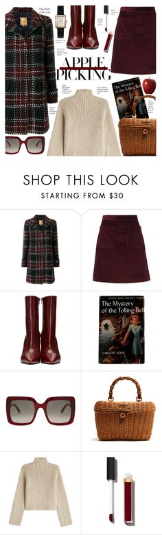 """Apple Picking"" by voguefashion101 ❤ liked on Polyvore featuring FAY, A.P.C., Vetements, STELLA McCARTNEY, Gucci, Rosetta Getty and Chanel"