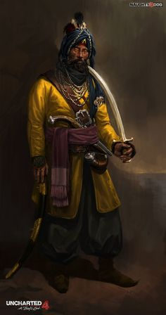 ArtStation - Captain Al Basra, Hyoung Nam