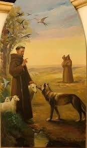 san francisco de asis y el lobo - Buscar con Google