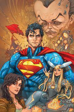 Superman (art by Kenneth Rocafort)