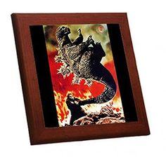 メルカリ商品: 『キングコング対ゴジラ』のポスターの木枠付きフォトタイル(映画ポスターシリーズ) #メルカリ