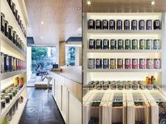 El Té tea house by Gustavo Sbardelotto & Mariana Bogarin, Porto Alegre   Brazil store design