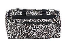 Black And White Bags, Brown Leopard, Duffel Bag, Cheer, Gym, Dance, Amazon, Design, Dancing