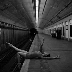 Dancer in Subway