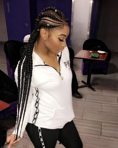 Feed in Ghana braids