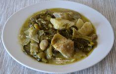 Αγκιναροκούκια (φρέσκα κουκιά με αγκινάρες) - cretangastronomy.gr Soup, Beef, Ethnic Recipes, Greek Recipes, Meat, Soups, Steak