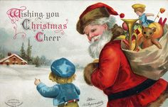 19 Vintage Christmas Cards That Will Make You Nostalgic for Holidays Past