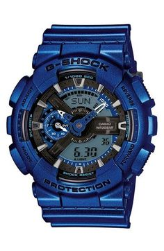 G-Shock XL Resin Ana-Digi Watch, 55mm available at #Nordstrom