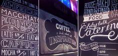 Cafe / Chalkboard for Mojo Coffee.