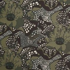 Liberty of London Satsuki May Green Cotton Poplin